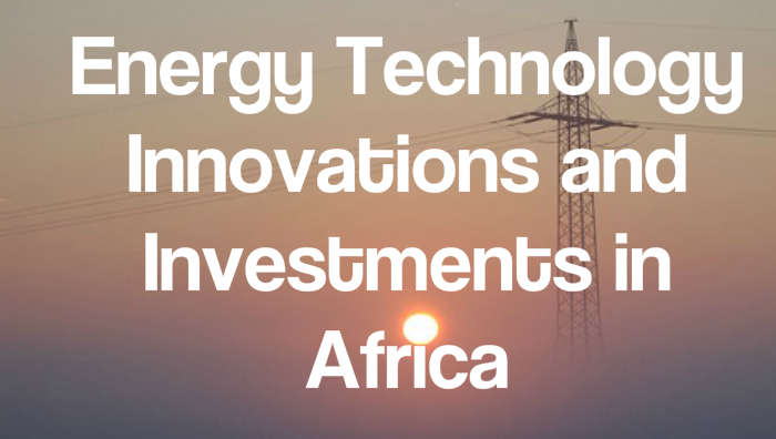Africa innovations: 15 ideas helping to transform a continent