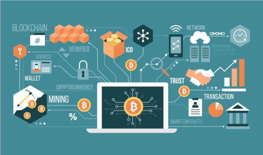Technology Management Image: How Blockchain Is Making It Easier For Fintech Companies
