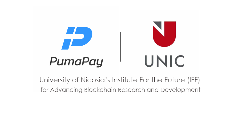 a2152c10002ed PumaPay Joins the University of Nicosia's IFF for Advancing Blockchain  Research and Development