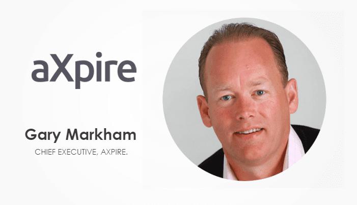 Gary Markham, the CEO of Axpire.