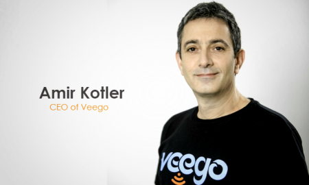 Amir Kotler, the CEO of Veego